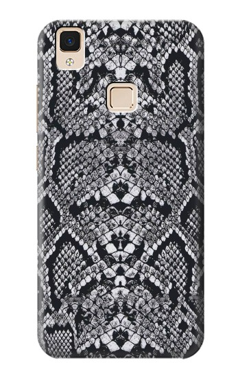 Printed White Rattle Snake Skin Apple iPad Air Case