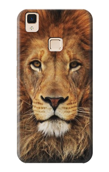 Printed Lion King of Beasts Apple iPad Air Case