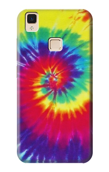 Printed Tie Dye Fabric Color Apple iPad Air Case