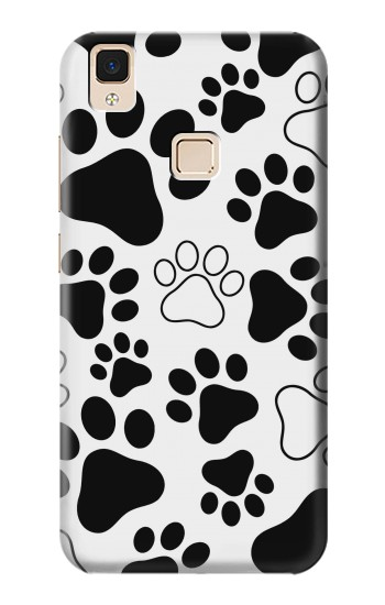 Printed Dog Paw Prints Apple iPad Air Case