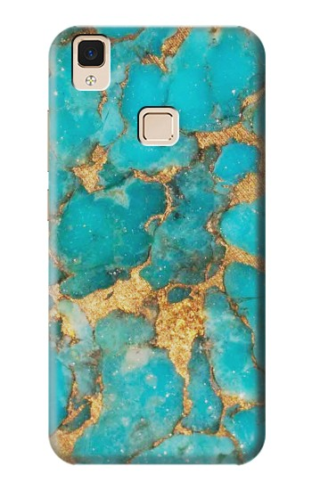 Printed Aqua Turquoise Stone Apple iPad Air Case