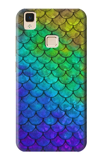Printed Mermaid Fish Scale Apple iPad Air Case