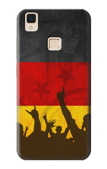 Printed Germany Football Flag Apple iPad Air Case