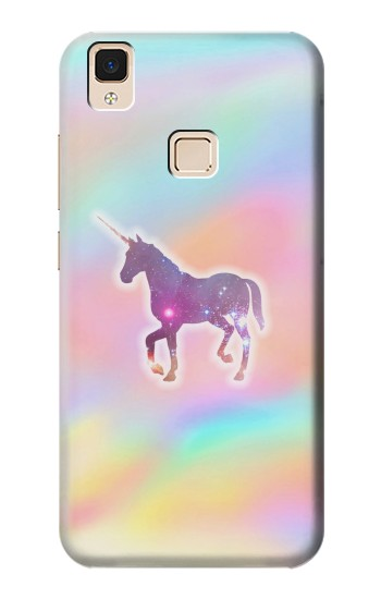 Printed Rainbow Unicorn Apple iPad Air Case