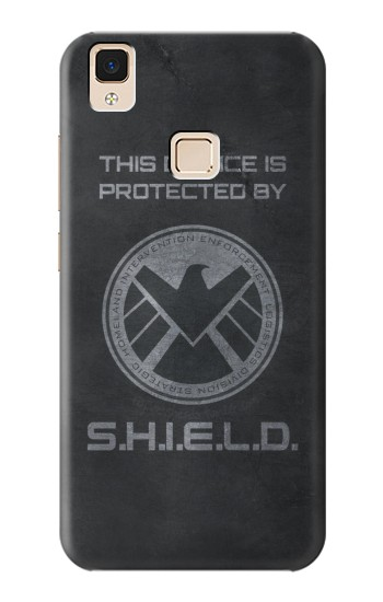 Printed This Device is Protected by Shield Apple iPad Air Case