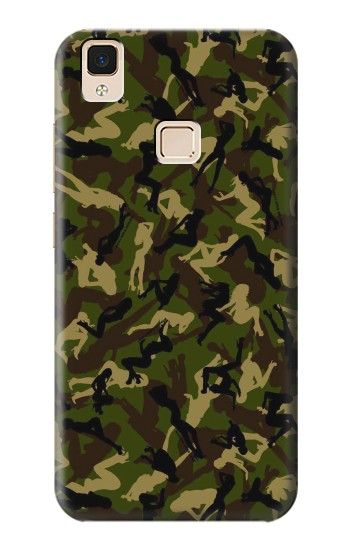 Printed Sexy Girls Camo Apple iPad Air Case