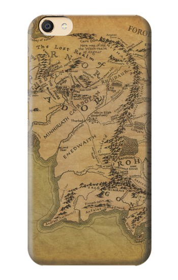 Printed The Lord Of The Rings Middle Earth Map Apple iPad mini 3 Case