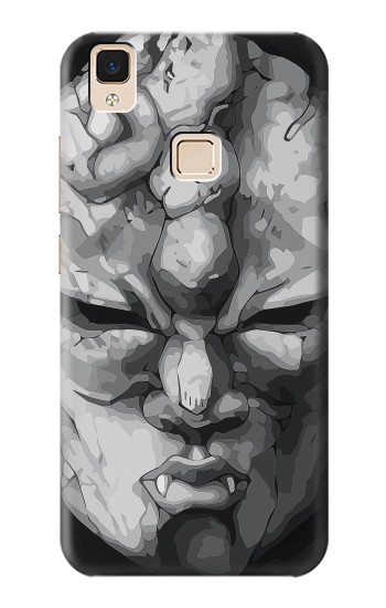 Printed Jojo Bizarre Adventure Stone Mask Apple iPad 3 / 4 Case