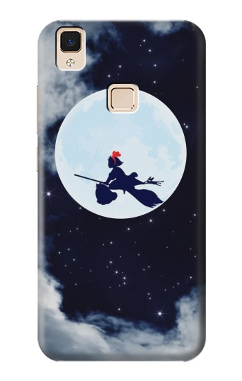 Printed Kiki Delivery Service Little Witch Kiki Moon Apple iPad 3 / 4 Case