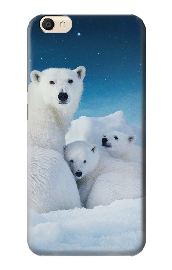 Printed Polar Bear Family Arctic alcatel Pop S9 Case
