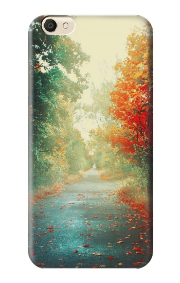 Printed Road Through The Woods alcatel Pop S9 Case