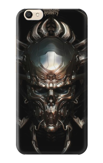 Printed Hardcore Insanity Metal Skull alcatel Pop S9 Case