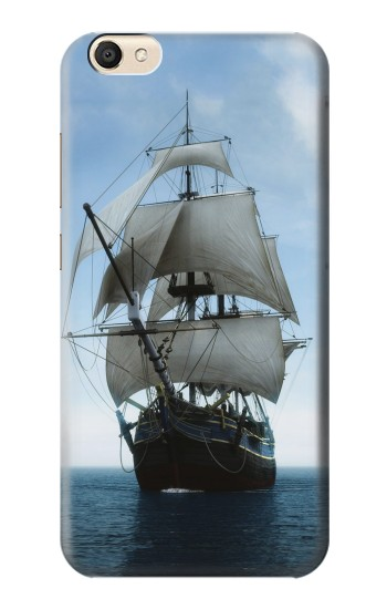 Printed Sailing Ship in an Ocean alcatel Pop S9 Case