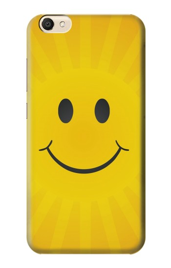 Printed Yellow Sun Smile alcatel Pop S9 Case