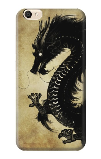 Printed Black Dragon Painting alcatel Pop S9 Case