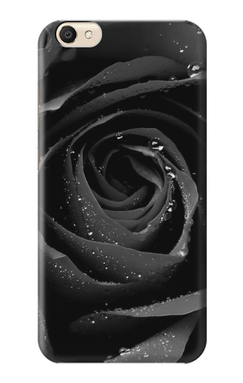 Printed Black Rose alcatel Pop S9 Case