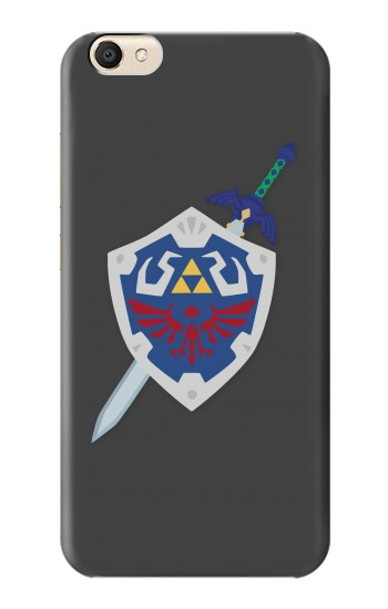 Printed Skyward Sword Hylian Shield Zelda alcatel Pop S9 Case