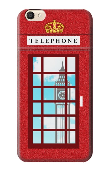 Printed England Classic British Telephone Box Minimalist alcatel Pop S9 Case