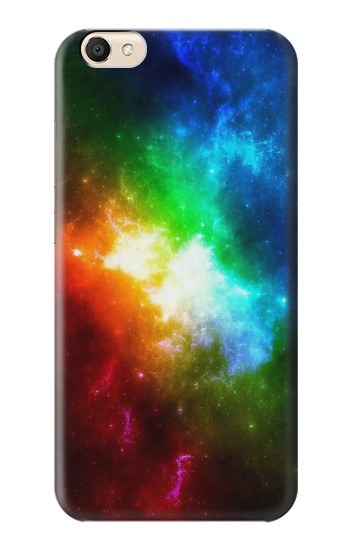 Printed Colorful Rainbow Space Galaxy alcatel Pop S9 Case