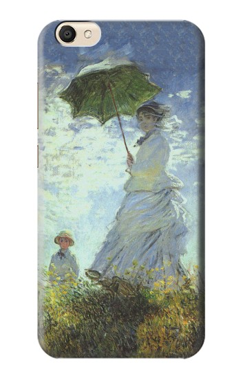 Printed Claude Monet Woman with a Parasol alcatel Pop S9 Case
