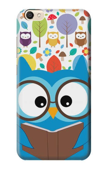 Printed Cute Owl Cartoon alcatel Pop S9 Case