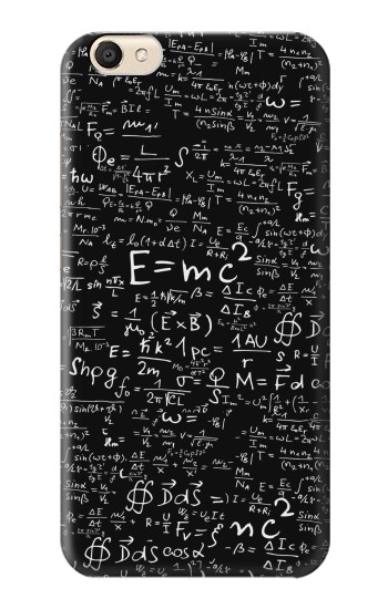 Printed Mathematics Physics Blackboard Equation alcatel Pop S9 Case