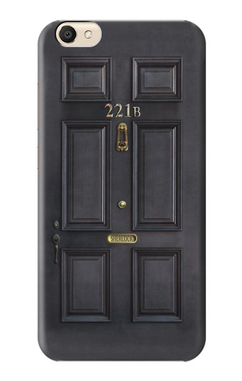 Printed Sherlock Holmes Black Door 221B alcatel Pop S9 Case