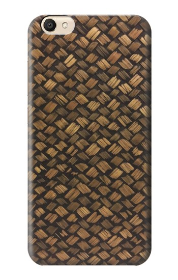 Printed Thai Bamboo Wickerwork alcatel Pop S9 Case