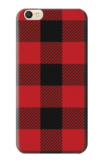 Printed Red Buffalo Check Pattern alcatel Pop S9 Case