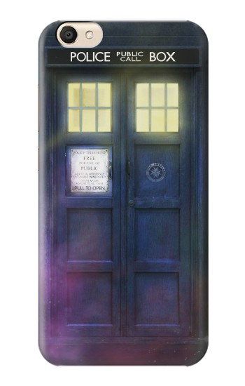 Printed Tardis Phone Box alcatel Pop S9 Case