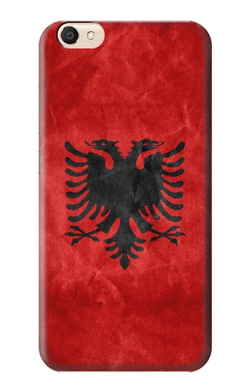 Printed Albania Red Flag alcatel Pop S9 Case