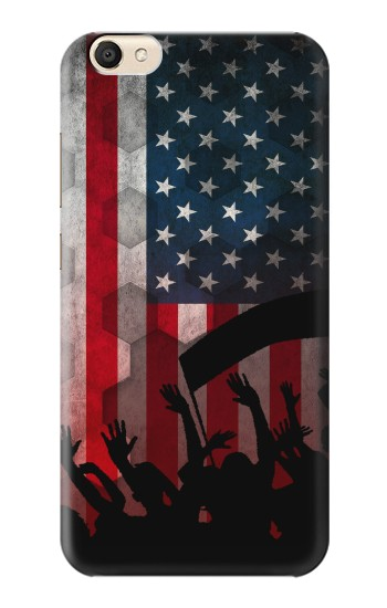Printed USA American Football Flag alcatel Pop S9 Case