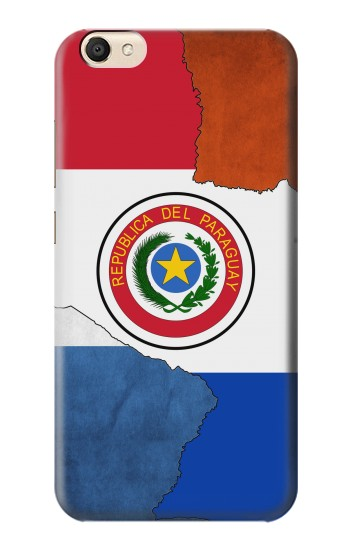 Printed Paraguay Flag alcatel Pop S9 Case