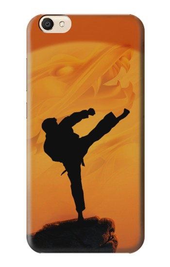 Printed Kung Fu Karate Fighter alcatel Pop S9 Case