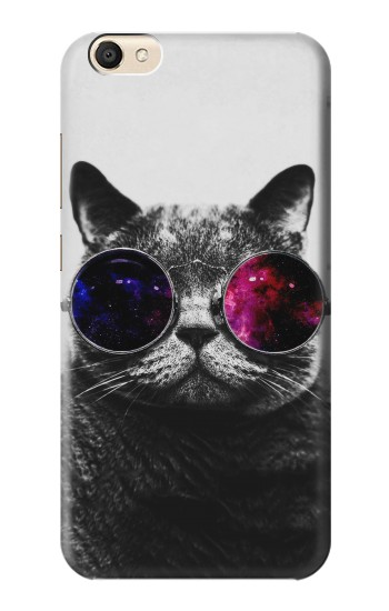 Printed Cool Cat Glasses alcatel Pop S9 Case