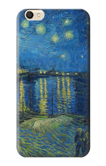 Printed Van Gogh Starry Night Over Rhone alcatel Pop S9 Case