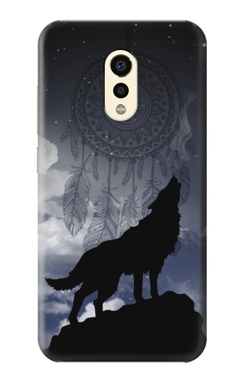Printed Dream Catcher Wolf Howling Apple iPad Air 2 Case