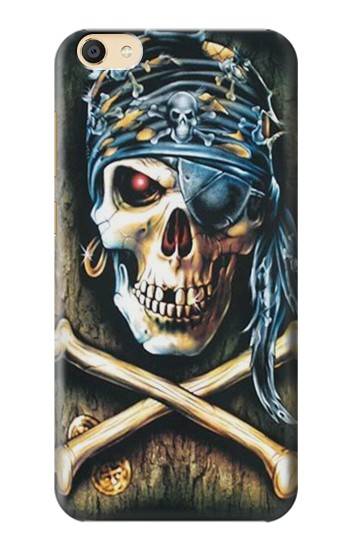 Printed Pirate Skull Punk Rock Apple iPad Mini 3 Case