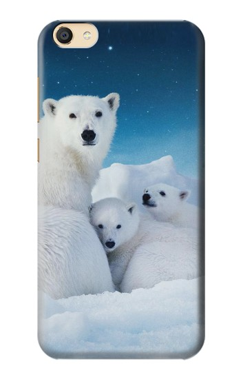 Printed Polar Bear Family Arctic Apple iPad Mini 3 Case