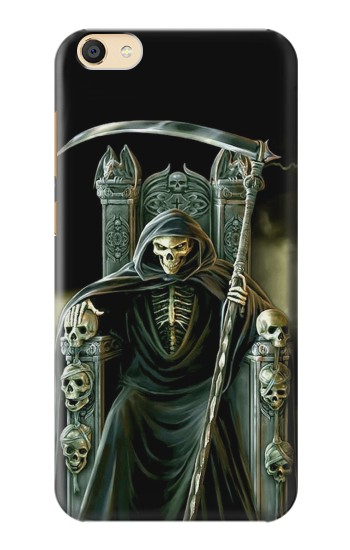 Printed Grim Reaper Skeleton King Apple iPad Mini 3 Case