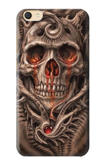 Printed Skull Blood Tattoo Apple iPad Mini 3 Case