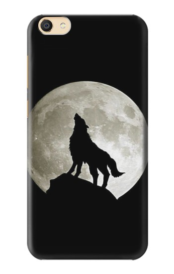 Printed Wolf Howling at The Moon Apple iPad Mini 3 Case