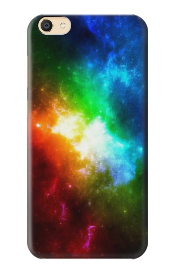 Printed Colorful Rainbow Space Galaxy Apple iPad Mini 3 Case