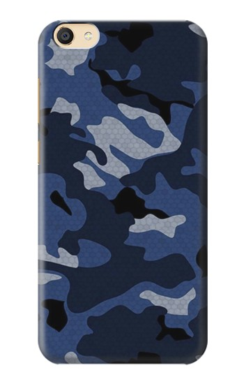 Printed Navy Blue Camouflage Apple iPad Mini 3 Case