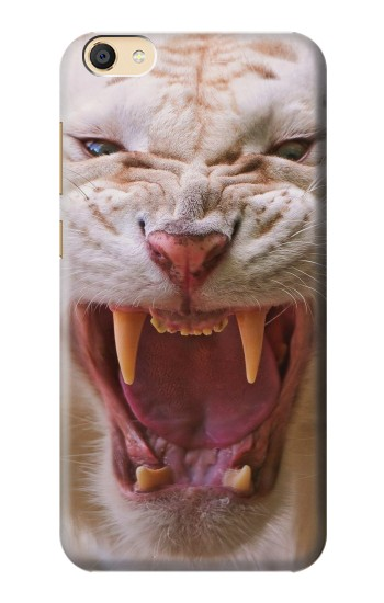 Printed White Saber Toothed Tiger Apple iPad Mini 3 Case