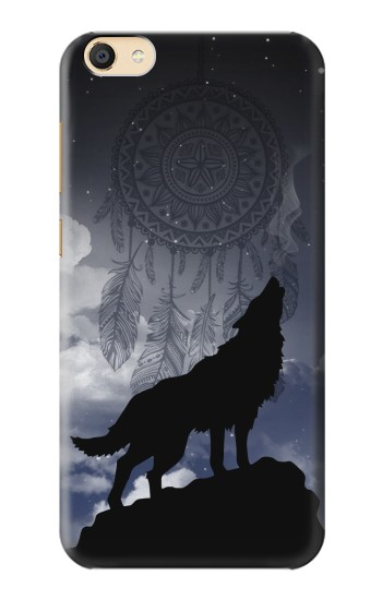 Printed Dream Catcher Wolf Howling Apple iPad Mini 3 Case