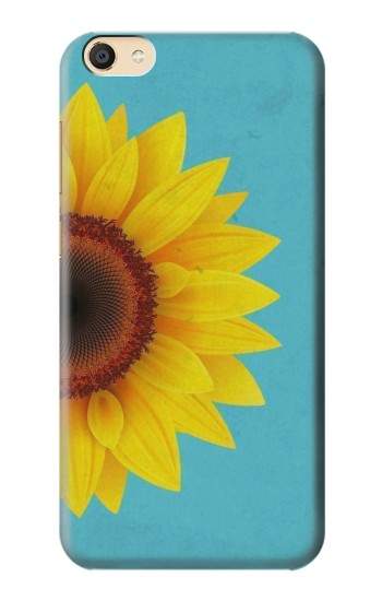 Printed Vintage Sunflower Blue Apple iPad Mini 3 Case