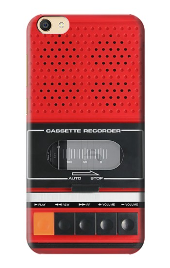 Printed Red Cassette Recorder Graphic Apple iPad Mini 3 Case