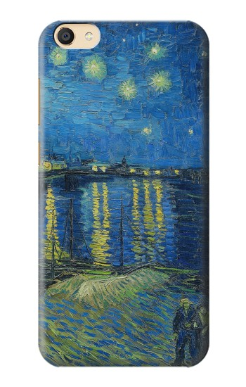 Printed Van Gogh Starry Night Over Rhone Apple iPad Mini 3 Case