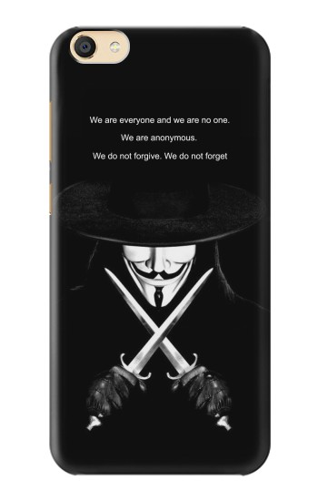 Printed V Mask Guy Fawkes Anonymous Apple iPad Mini 4 Case
